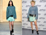 Chloe Sevigny In Proenza Schouler - Jeffery Fashion Cares 2012