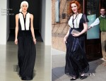 Christina Hendricks In Temperley London - Greenwich Hotel