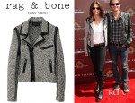 Cindy Crawford's Rag & Bone Hart Biker Jacket