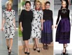 Diane Kruger In Derek Lam & Lea Seydoux In Christian Dior - 'Les Adieux A La Reine' Paris Premiere