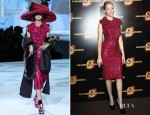 Elizabeth Banks In Marc Jacobs - 'The Hunger Games' Paris Premiere