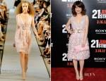 Ellie Kemper In Oscar de la Renta - '21 Jump Street' LA Premiere