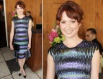 Ellie Kemper In Peter Pilotto - 25 Most Powerful Stylists Luncheon