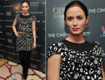 Emily Blunt In Miu Miu - 'Salmon Fishing In The Yemen' New York Screening