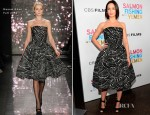 Emily Blunt In Naeem Khan - 'Salmon Fishing In The Yemen' LA Premiere