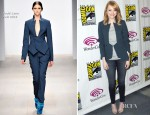 Emma Stone In Todd Lynn - WonderCon 2012 Presents 'The Amazing Spider-Man'