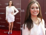 Emmy Rossum In Katharine Kidd - 9th Annual John Varvatos Stuart House Benefit