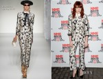 Florence Welch In Moschino - NME Awards 2012