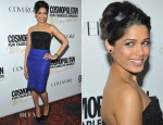 Freida Pinto In YSL - Cosmopolitan Fun Fearless Men And Women 2012