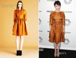 Ginnifer Goodwin In Jonathan Saunders - PaleyFest 2012: 'Once Upon A Time'