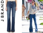 Gisele Bundchen's J Brand Bette High Rise Flare