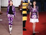 Huo Siyan In Prabal Gurung - Mmax Future Pictures Festival