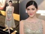 Isabelle Fuhrman In Oscar de la Renta - 'The Hunger Games' LA Premiere