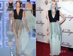 Jaime King In Christian Dior -  'Saint Vintage Love Tour' Benefiting Stand Up 2 Cancer