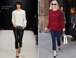 January Jones In Isabel Marant - Greenwich Hotel