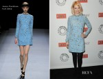 January Jones In Jenny Packham - PaleyFest 2012: 'Mad Men'