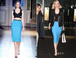 January Jones In Roland Mouret – The 'Today' Show