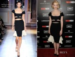 January Jones In Roland Mouret - 'Mad Men' Season 5 Premiere