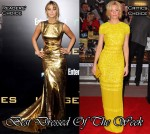 Best Dressed Of The Week - Jennifer Lawrence In Prabal Gurung & Elizabeth Banks In Bill Blass