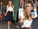 Jennifer Lawrence In Joie and Holmes & Yang - Good Morning America
