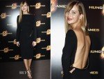 Jennifer Lawrence In Tom Ford - 'The Hunger Games' Paris Premiere