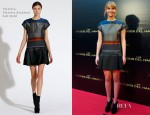 Jennifer Lawrence In Victoria, Victoria Beckham - 'The Hunger Games' Fan Event
