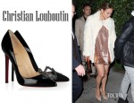 Jennifer Lopez' Christian Louboutin Sex Patent Leather Pumps