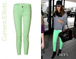 Jessica Alba's Current/Elliott Stiletto Jeans