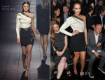 Jessica Alba In Lanvin – Lanvin Fall 2012 Presentation