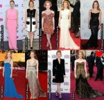 Which Was Your Favourite Jessica Chastain 2012 Awards Season Look?