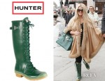 Jessica Simpson's Hunter Thurloe Lace Up Wellington Boots