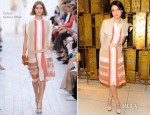 Jessica Stam In Chloé - Joe Fresh Flagship Store Opening