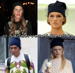 Paris Fashion Week Trend: Jil Sander Spring 2012 Veiled Beanies