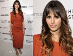 Jordana Brewster In Todd Lynn - LONDON Show ROOMS Cocktail Party