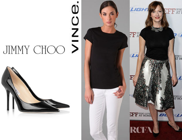 Judy Greer Vince Jimmy Choo