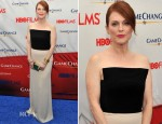 Julianne Moore In Lanvin - 'Game Change' Premiere