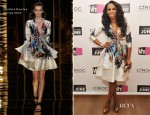 June Ambrose In Cynthia Rowley - 'Styled By June' New York Screening