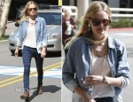 Kate Bosworth In 7 For All Mankind - Screen Actors Guild Building