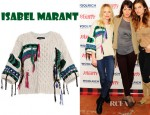 Kate Bosworth's Isabel Marant Lucy Aran Sweater
