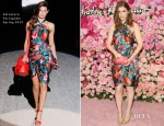 Kate Mara In Salvatore Ferragamo – Launch of Salvatore Ferragamo's 'Signorina' Fragrance