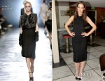 Katie Holmes In Holmes & Yang & Lanvin - 25 Most Powerful Stylists Luncheon