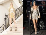 Katy Perry In Balmain - Maison Du Caviar Party