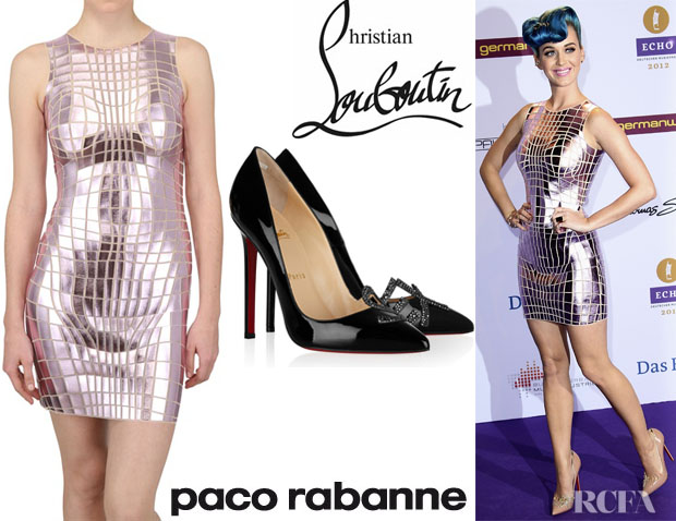 Katy Perry Paco Rabanne Christian Louboutin