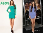 Kendall Jenner's Motel Goldie Mini Mesh Dress