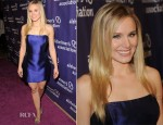 Kristen Bell In Reem Acra - 'A Night at Sardi's': 20th Anniversary of the Alzheimer's Association