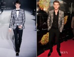 Liam Hemsworth In Gucci - 'The Hunger Games' Toronto Premiere