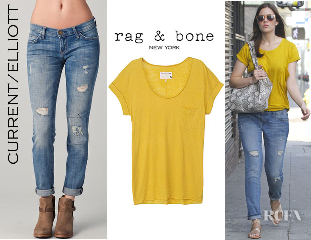 Mandy Moore Current Elliott Rag & Bone