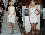 Maria Sharapova In Oscar de la Renta - A Beautiful Rebels Press Dinner