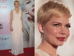 Michelle Williams In Alexander McQueen - 'My Week with Marilyn' Japan Premiere