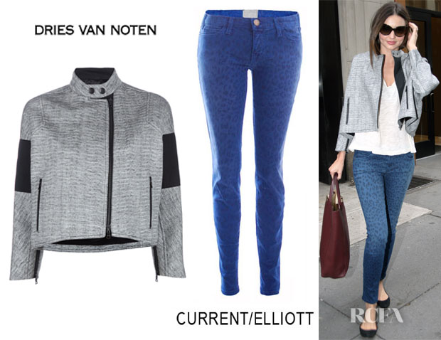 Miranda Kerr Dries Van Noten CurrentElliott